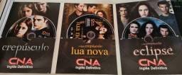 DVDS crepusculo,Lua Nova e eclipse.