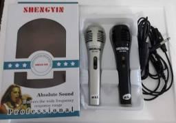 Kit microfone karaokê/atacado e varejo entrega em jp e região