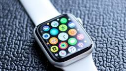 Relógio Smartwatch T500 Plus Original - Branco e Rosê
