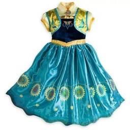 Fantasia Frozen Anna Fever Princesa Infantil