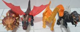 Bonecos dinossauros lote