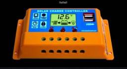 controlador de carga solar 30a tecnologia alemã,12v/24v automático