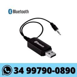 Receptor Bluetooth de Audio P2/USB Som Carro