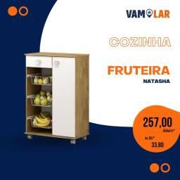 Título do anúncio: Fruteira Natasha - 3 Cestas Metálicas - Frete Grátis.