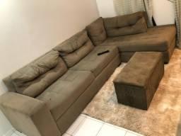 Vendo sofá e puff em ótimo estado