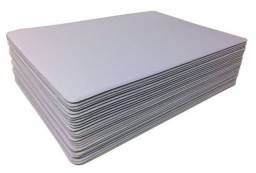 Mousepad branco liso 35 cm x 25 cm
