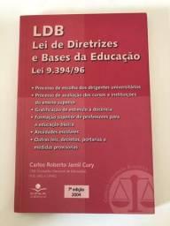 Livro - LDB, Lei de Diretrizes e Bases da Educação
