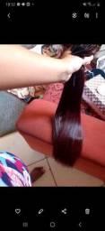 Vendo mega hair bio vegetal São 6 telas