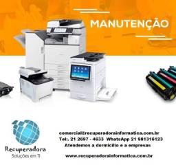 Serviço de Suporte Técnico em Hardware e Software e Impressora