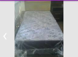 cama box solteiro nova da fabrica