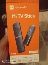 Tv box xiaomi mi Tv stick completo novo