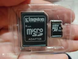 Vendo cartão de memória 128 gigas