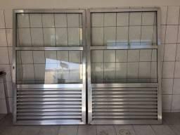 Título do anúncio: Porta de vidro e alumínio