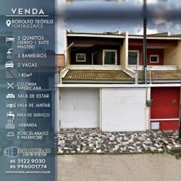 Casa com 4 dormitórios, 140 m² no Rodolfo Teófilo - Fortaleza/CE