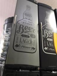 Cervejeira com Porta de Aço - 230 Litros - Gelopar - Matheus 47- *