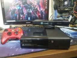 Xbox 360 + Jogos ( Ate 12x Com acrescimo )