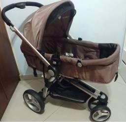 Carrinho de bebê moisés + bebê conforto KIDDO Compass II