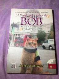 Livro O mundo pelos olhos de Bob