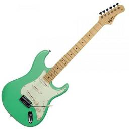 Guitarra Tagima TG530 Woodstock Surf Green TG 530 Stratocaster - Somos Loja