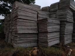 Placas de cimento 0,80 x 1,35 - para lajes e muros pré-moldados