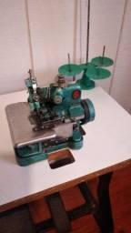 Máquina de costura overlock semi industrial