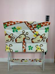 Banheira Bebe Plástica Luxo, Galzerano, Girafas