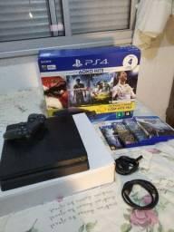 PS4 com 20 jogos