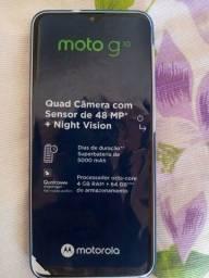 Moto g 10 novo nunca foi usado