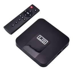 Tv Box Tx9 4k 64gb Preto C/memória 4 Gb Ram