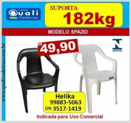 poltrona Spazio uso comercial suporta 182kg