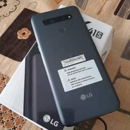 LG K41S NOVO na caixa completo