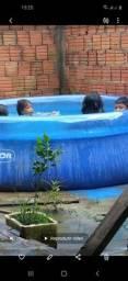 Vendo essa piscina pouco tempo de uso 3.500 litros
