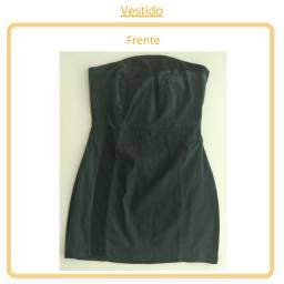 Vestido Preto (tomara que caia) - M