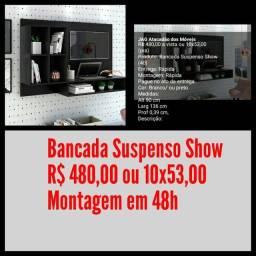 Bancada Suspensa Show / Montagem Grátis