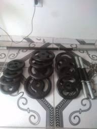 Barras e anilhas