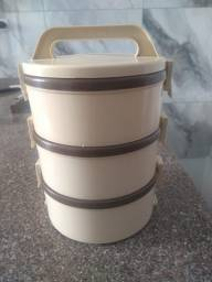 Kit 3 potes térmicos para marmita
