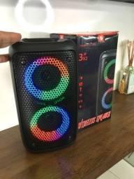 Caixa de som Bluetooth  30 cm de altura som alto