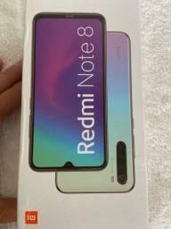 Xiaomi redmi note 8 | 128gb | 4gb ram | preto | versão global