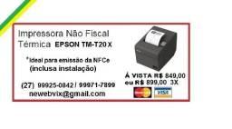 Impressora Epson TM-T20X (Ideal para cupom NFCe)