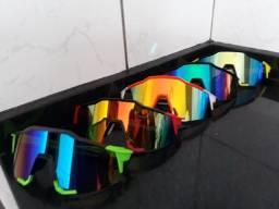Oculos para ciclismo.