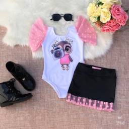 Conjunto Infantil Menina Roupa Blogueira