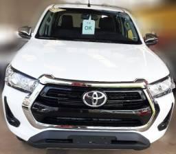 Toyota Hilux SRV 21 - 21 4x4 Diesel 0Km, Branca