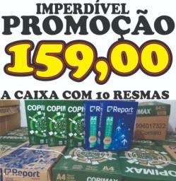 MENOR PREÇO!!!!IMPERDÍVEL!!! PAPEL A4 500 folhas COPIMAX E REPORT