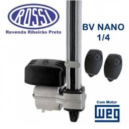 Motor Basculante Nano Rossi 1/4hp Portão Com Suporte Fixação - instalado