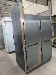 Refrigerador/Congelador Industrial - 100% Aço Inox AISI 430 - NOVO