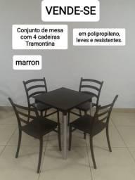 Conjunto Mesas e cadeiras Tramontina