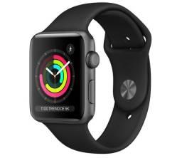 Apple Watch 3 38mm preto NOVO LACRADO