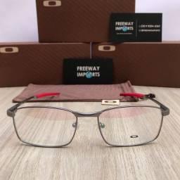 Óculos Oakley Fuller Red armação de alumínio