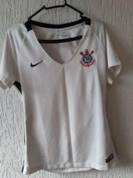 Blusa feminina do Corinthians tamanho M original