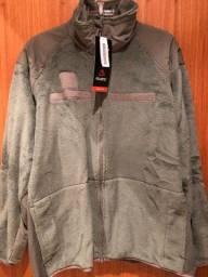 Casaco militar em fleece Polartec tamanho G